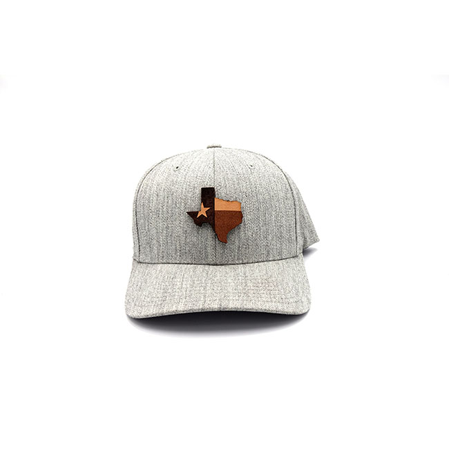 Branded Leather Three Thousand Pennies State Patch Hat