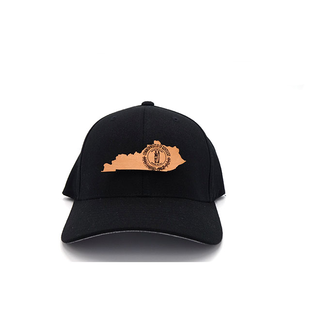 Kentucky Branded Leather Patch Three Thousand Pennies Hat Flexfit