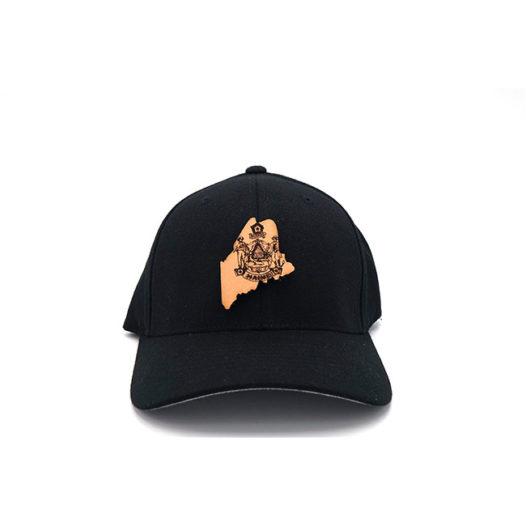 Maine Black Flexfit THree Thousand Pennies Hat