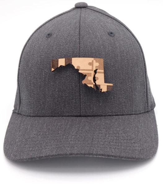 Maryland | Dark Heather Flexfit State Flag Hat