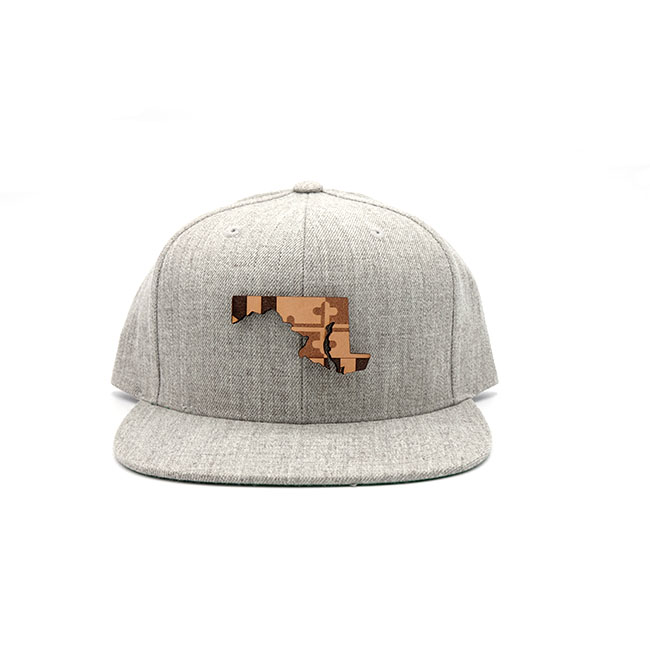 Maryland Flatbill Snapback Three Thousand Pennies Hat