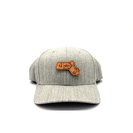 Massachusetts Flexfit Heather State Pride Hat
