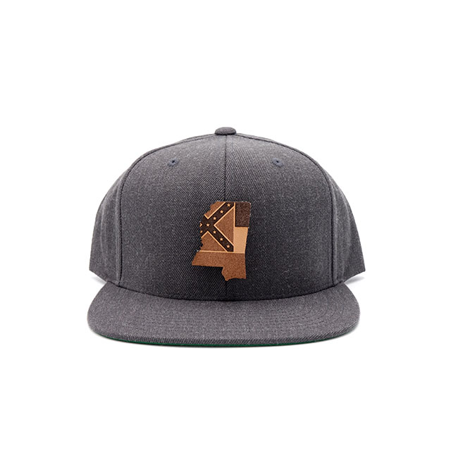 Mississippi Flatbill Snapback Three Thousand Pennies State Pride