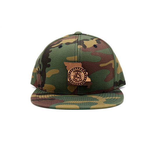 Missouri Flatbill Snapback State Pride Hat