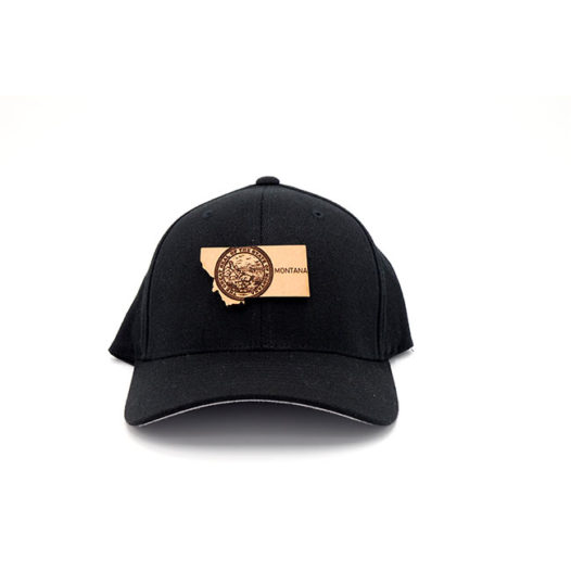 Montana Flexfit Leather Patch Hat Three Thousand Pennies