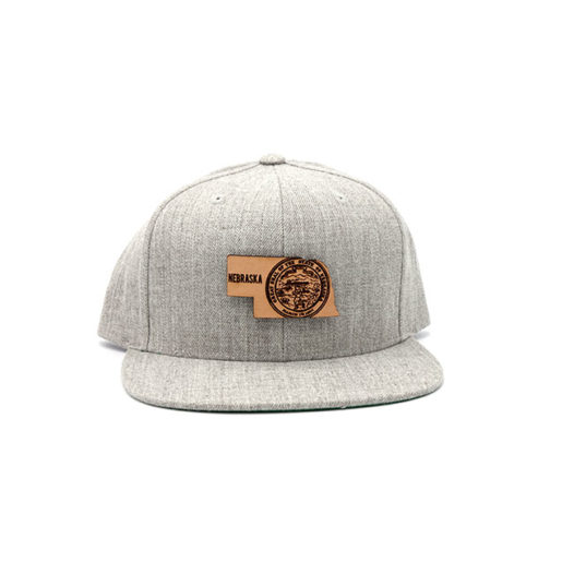 Nebraska Flatbill Snapback Three Thousand Pennies Hat