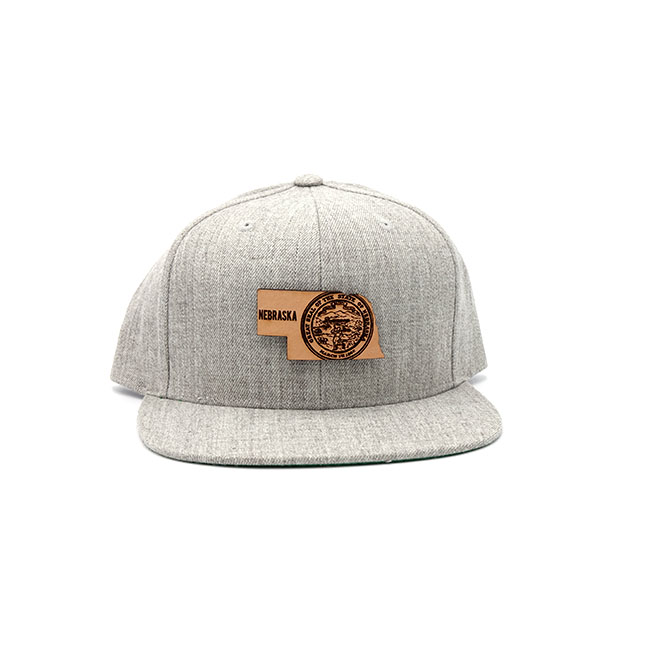 Nebraska Flatbill Snapback Three Thousand Pennies Hat