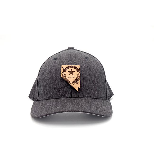 Nevada | Dark Heather Flexfit State Hat