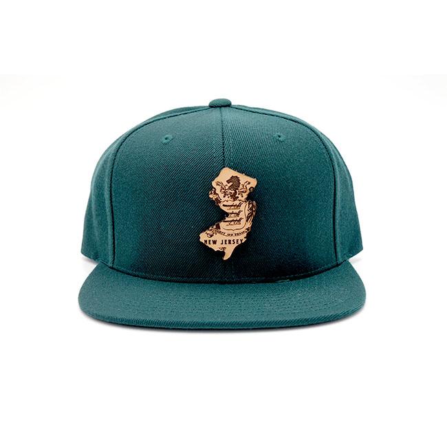 New Jersey | Spruce Flatbill Snapback State Hat