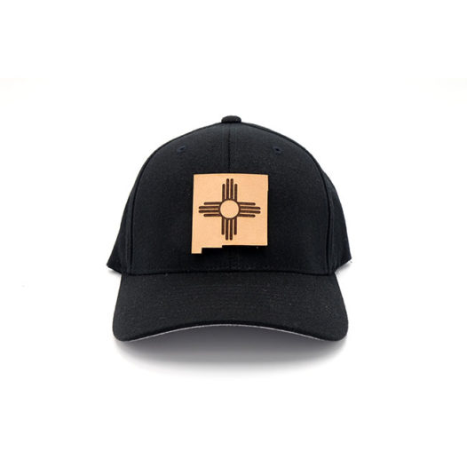 New Mexico | Black Flexfit State Flag Hat