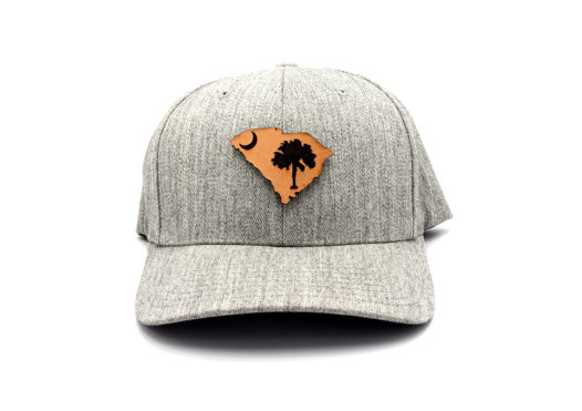 South-Carolina-Heather-Grey-Flexfit-State-Flag-Hat