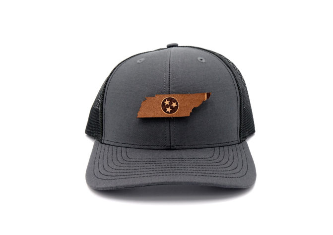 Tennessee-Charcoal-Black-Trucker-State-Flag-Hat