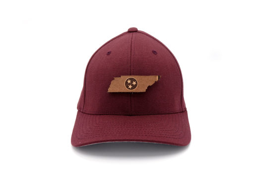 Tennessee-Maroon-Flexfit-Three-Thousand-Pennies-Hat