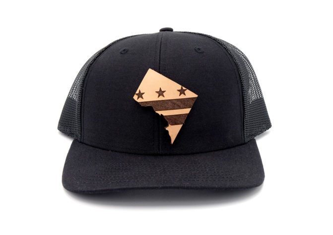Washington-DC-Black-Trucker-Three-Thousand-Pennies-Hat