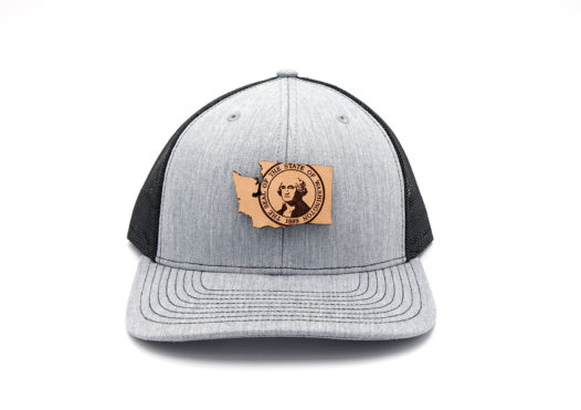 Washington-Heather-Black-Trucker-Three-Thousand-Pennies-Hat