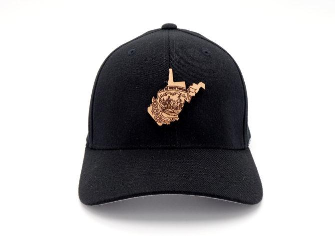West-Virginia-Black-Flexfit-Three-Thousand-Pennies-Hat