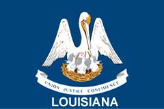 Louisiana hats, custom hats, leather patch hats