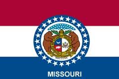 Missouri custom hats, State pride hats