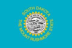 South Dakota Hunting hats, upland hunting hat, south dakota state flag hat