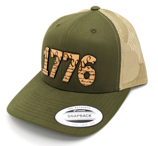 1776 Leather Patch Hat